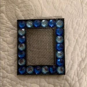 Rhinestone earring holder